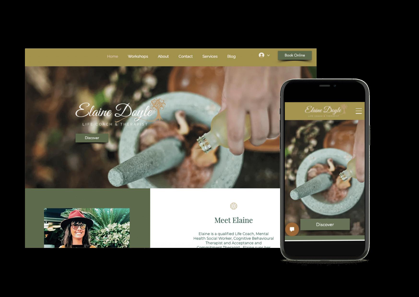 Elaine Doyle | Website Design